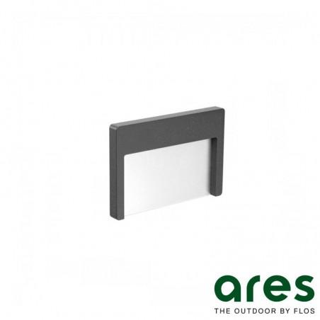Ares Trixie LED 1,9W 3000K Lampada Esterno Segnapasso IP65 Antracite