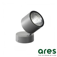 Ares Kirk 70 LED 4.5W 3000K Wall Ceiling Floor Lamp Outdoor IP65 Grey