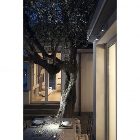 Ares Kirk 70 LED 4.5W 3000K Wall Ceiling Floor Lamp Outdoor IP65 Grey