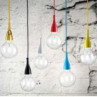 Ideal Lux Minimal SP1 Suspension Pendant Lamp White