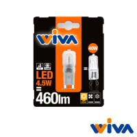 Wiva G9 LED Basic 2.5W-27W 270lm 3000K Ceramic Bulb