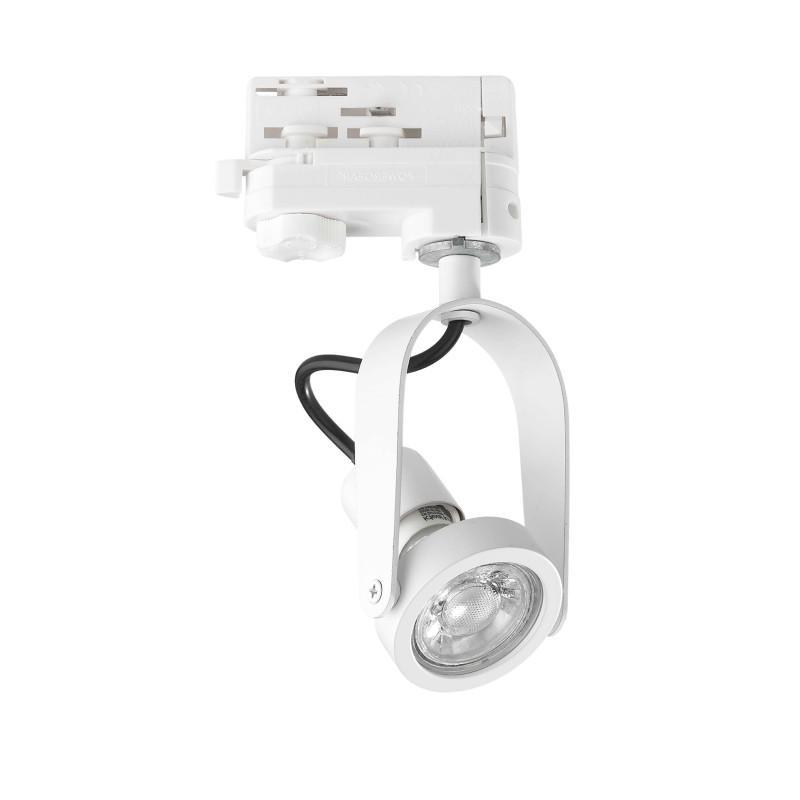 Ideal Lux Glim Compact Track Faretto a LED Orientabile da Binario Monofase per Interno
