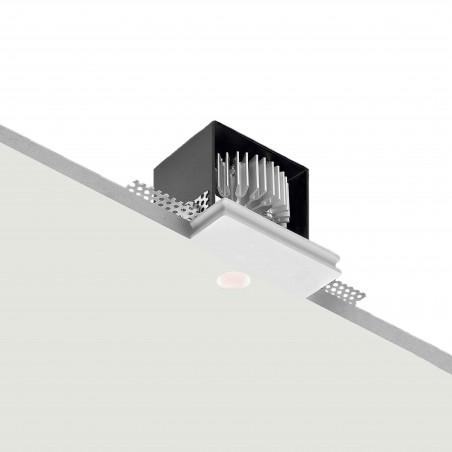 Buzzi & Buzzi Genius Basic LED Faretto da Incasso Quadrato AirCoral Bianco
