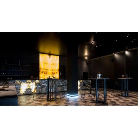 Buzzi & Buzzi Genius Black & Brass Faretto LED da Incasso a Scomparsa Totale