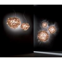 Slamp Veli Suspension Lampada da Sospensione Dimmerabile a Luce Diffusa con Magnetic System By Adriano Rachele
