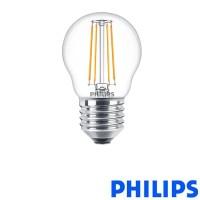 Philips LEDLuster E27 4W-40W 2700K 470 lm P45 Lampadina