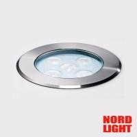 Nord Light LEDCO EGO 5S Incasso Esterno 6W 30° 350mA Laterizio IP67 *7056.30K.IP68