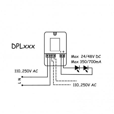 Power Supply QLT DPL304E 11W 14V 700 mA for LED Modules