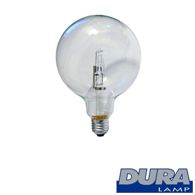 DURALAMP Globe E27 18W-24W 3000k Halogen lamp Globe