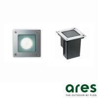 Ares Bea Square Recessed Spotlight Wall/Floor IP67
