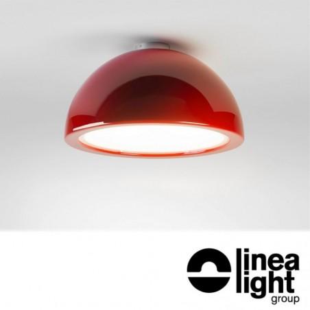 Linea Light 7717 Entourage LED Adjustable Ceiling Lamp Suspension 26W Red