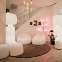 Slide Design Cucun Lampada LED da Terra Luminosa a Luce Diffusa per Esterno by Lorenza Bozzoli