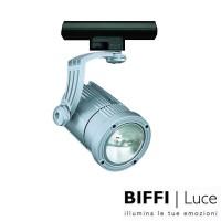 Biffi Luce 8621 Proiettore da Binario 200W R7S Alogena Grigio