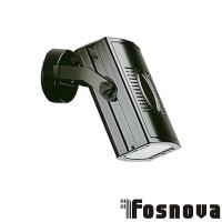 Fosnova Trial-One 34683200 Rx7S Proiettore da Binario Nero