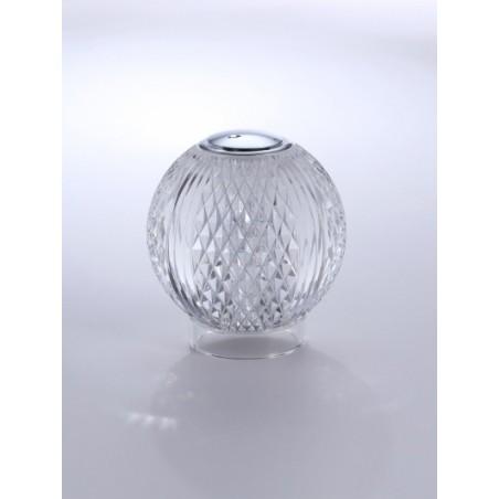 Illuminati Lighting Diamante Lumetto a 1 Luce Lampada da Tavolo Dimmerabile a Batteria Ricaricabile