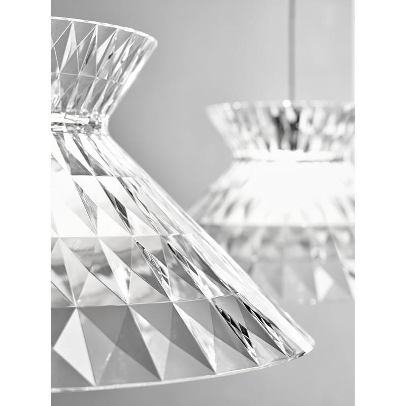 Superior Sugegasa LED Suspension Ceiling Lamp Crystal Studio Italia Design
