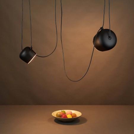 Flos AIM LED Pendant Suspension Ceiling Lamp White Design by Bouroullec