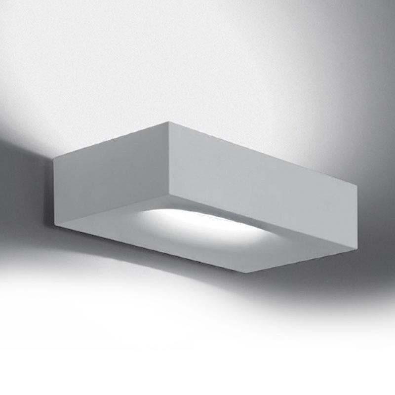 Artemide Melete LED 3000K Lampada da Parete Dimmerabile Bianco By Pio E Tito Toso