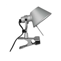 Artemide Tolomeo Pinza Aluminum Table Wall Lamp Design De Lucchi Fassina