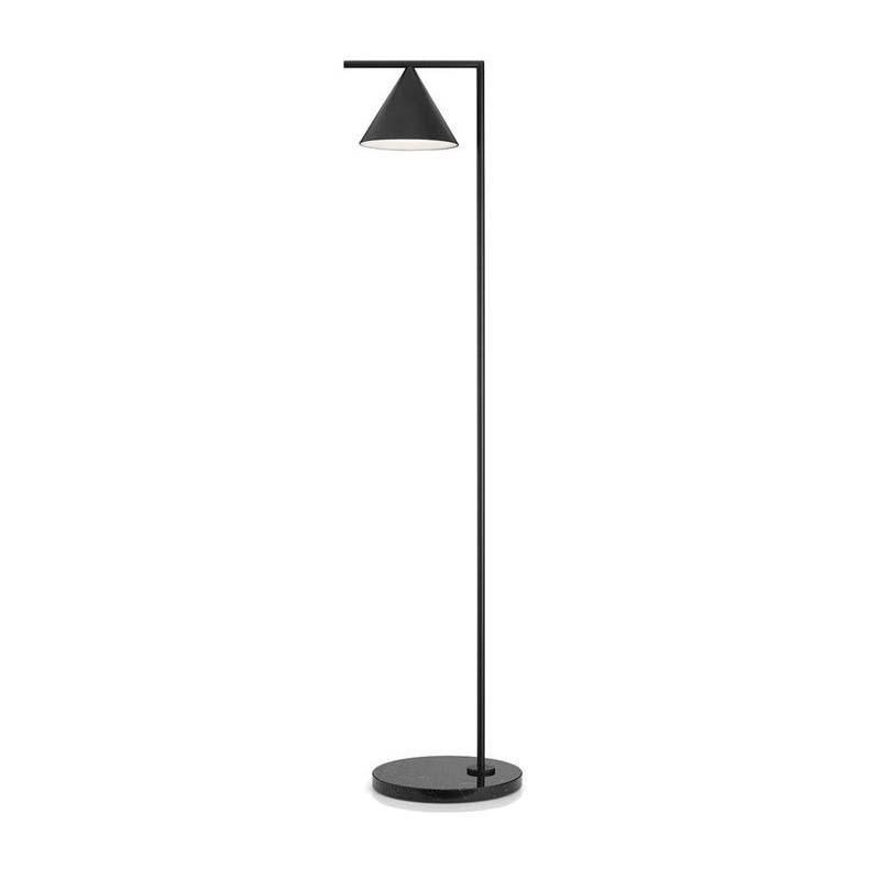 Flos Captain Flint LED Floor Lamp Anthracite/Black By Michael Anastassiades
