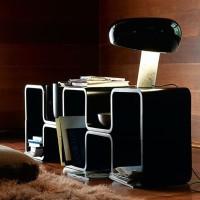 Flos Snoopy Lampada da Tavolo Nero F6380030