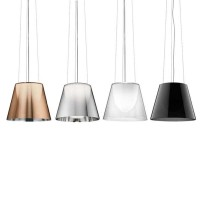 Flos Ktribe S2 Suspension Pendant Lamp diffused lighting chandelier by Philippe Starck