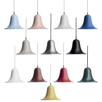 Verpan Pantop Ø23 Pendant Bell Suspension Lamp for Indoor By Verner Panton