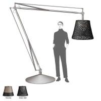 Flos Superarchimoon Outdoor Floor Lamp phospho-chromated aluminum Archimoon by Philippe Starck
