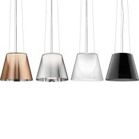 Flos Ktribe S3 Suspension Pendant Lamp diffused lighting chandelier by Philippe Starck