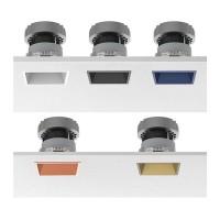 Flos Easy Kap 80 Fixed Quadrato LED 9W 3000K 577 Lm Faretto Incasso Soffitto
