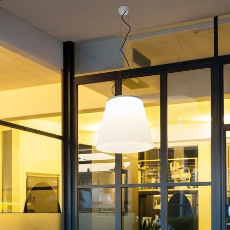 Linea Light 15327 Vulcanino Suspension Ceiling Lamp Outdoor IP65