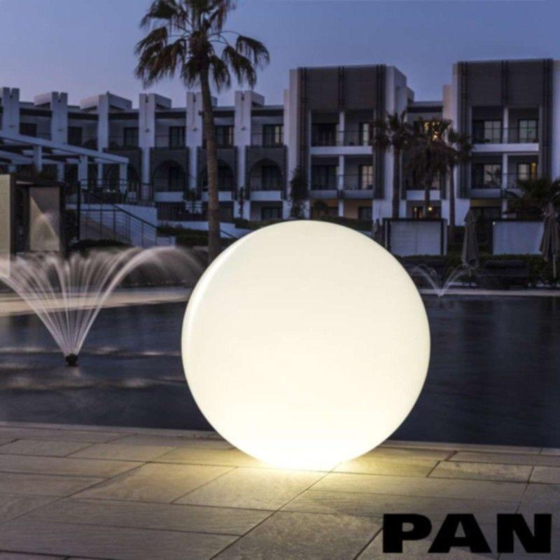 Pan sphere est507 d 5 cm floor garden lamp light ball for Sphere 5 light floor lamp