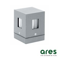Ares Mini Ganos Wall Ceiling Lamp or Bollard 4 LENS G9 40W Outdoor IP65