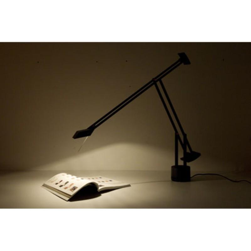 Artemide Tizio 35 Halogen Table Lamp Black A005010 Diffusione Luce Srl