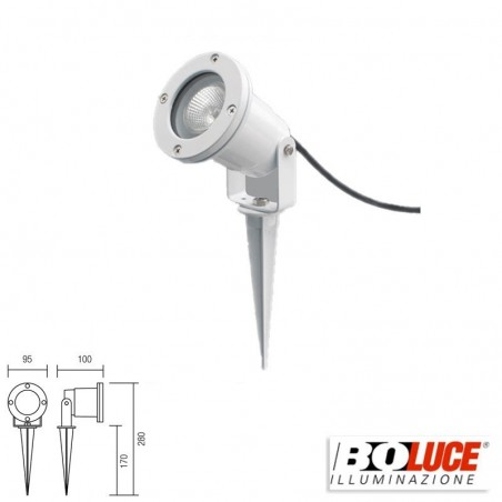 Boluce Show 4060 Outdoor Adjustable Projector for Garden IP55 White