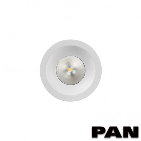 PAN INC1124 KENOBI Round LED 22W 3000K 38° 2100lm Recessed Downlight