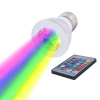 Lampadina LED Faretto GU10 RGB Dimmerabile con Telecomando