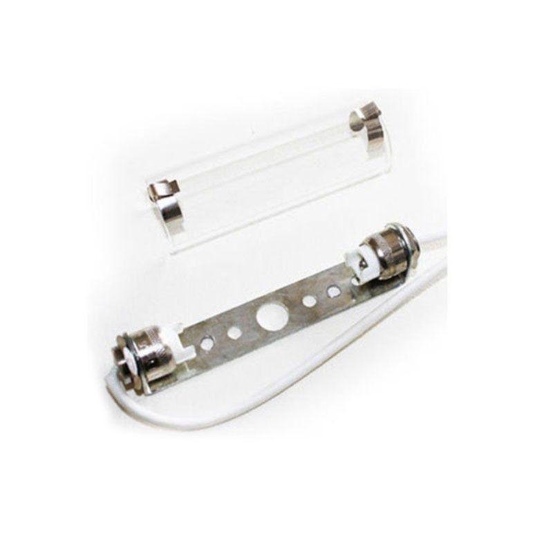 QLT Portalampada R7S con Vetro Per Lampadine Alogene 78mm