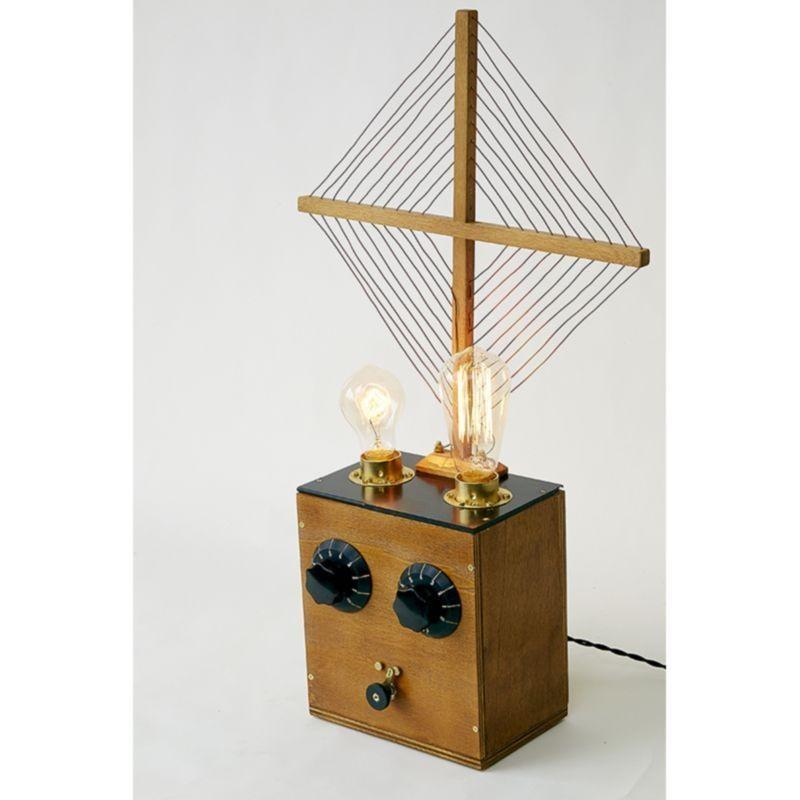 Handmade table lamp lorena 2 x e27 edison vintage diffusione luce srl - Handmade table lamp ...