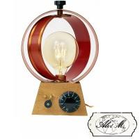 Lampada da Tavolo Artigianale Marta E27 Edison Vintage