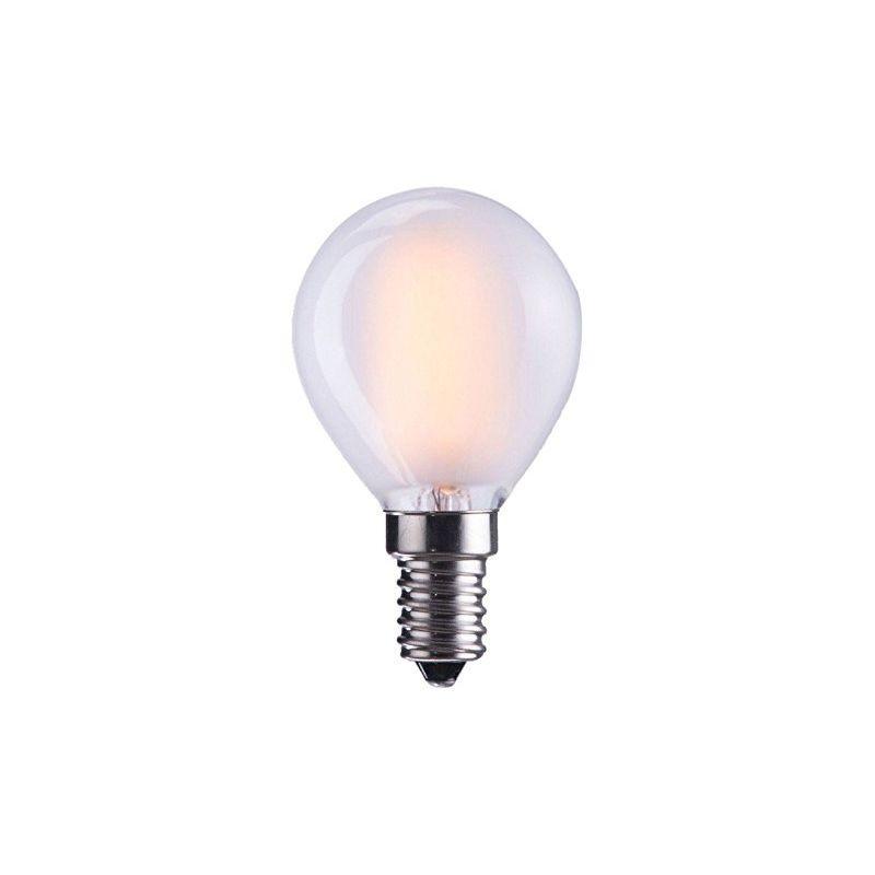 Led E12 Frosted: LED Bulb Milky G45 E12 110-120V 4W Frosted 2700K Warm