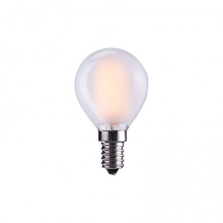 LED Bulb Milky G45 E14 110-120V 4W Frosted 2700K Warm White