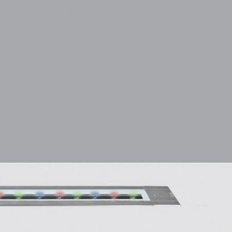 iGuzzini BA73 Linealuce 18W LED RGB DALI faro incasso