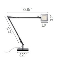 Flos Kelvin LED Lampada da Tavolo Bianco
