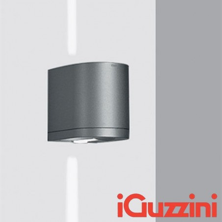 IGuzzini 5687.15 Kriss wall sconces outside Grey IP44