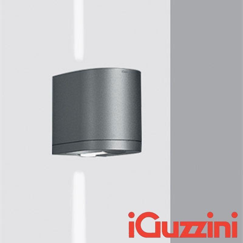 IGuzzini 5687.15 Kriss parete applique Grigio esterno IP44