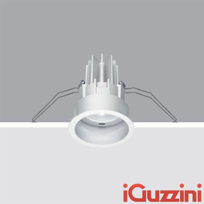 iguzzini deep laser round recessed fixed spotlight white diffusione luce srl. Black Bedroom Furniture Sets. Home Design Ideas