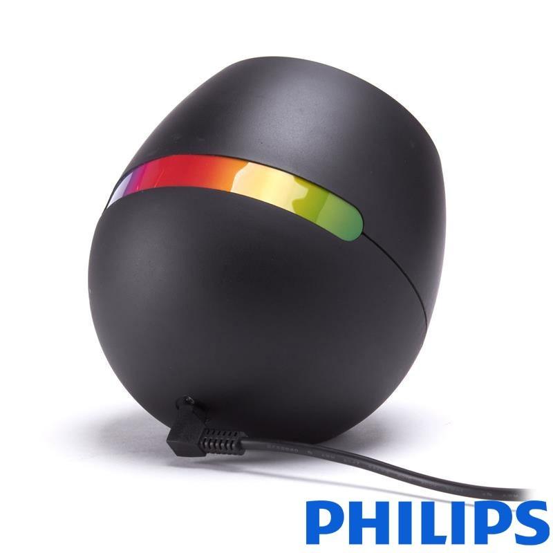 Philips Living Colors MICRO Black Table Lamp LED 4.7 W MULTI COLOR RGB