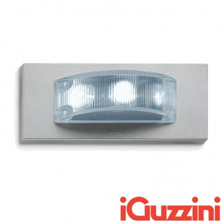 IGuzzini BA98 Glim Cube LED Luce Calda 3200K Applique da Parete Outdoor