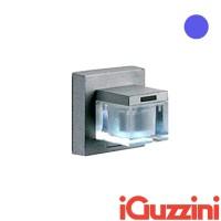 IGuzzini B605 Glim Cube LED Blu Applique da Parete Esterno